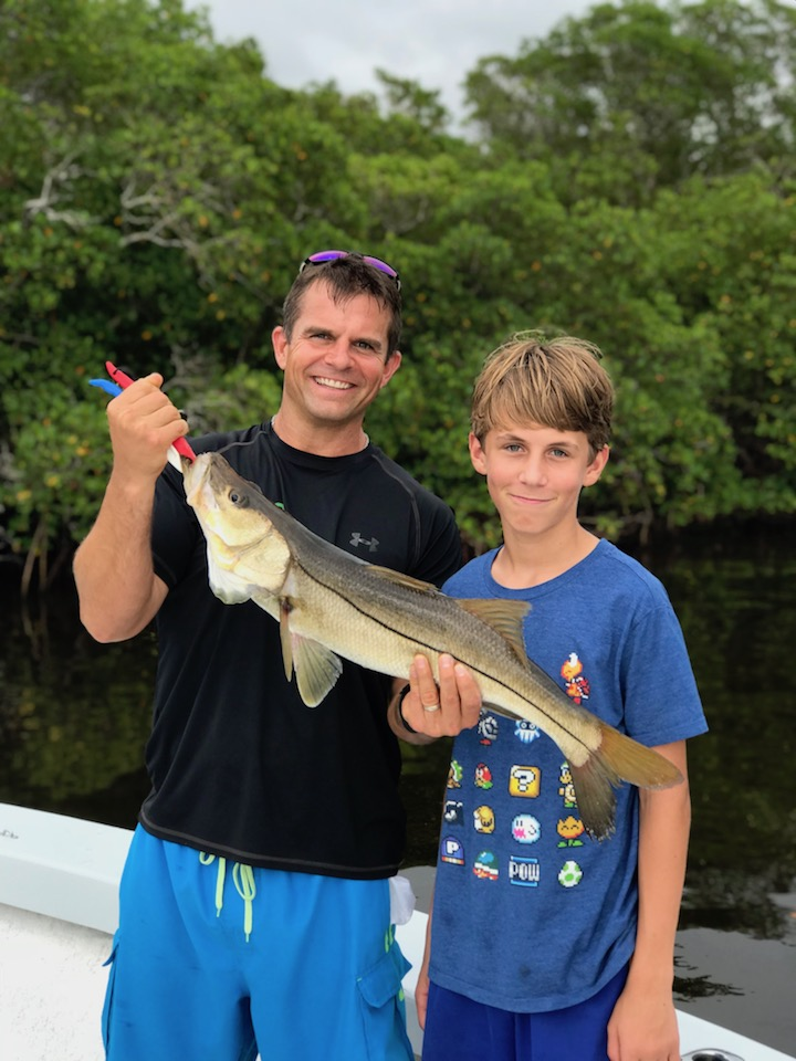 Father Son Fishing and Snook Sanibel