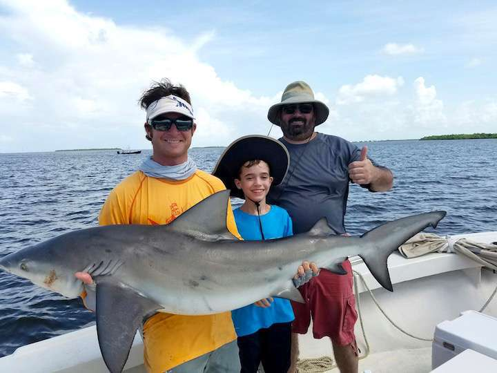 Captain noah sanibel fishing charters fort myers for Shark fishing in florida