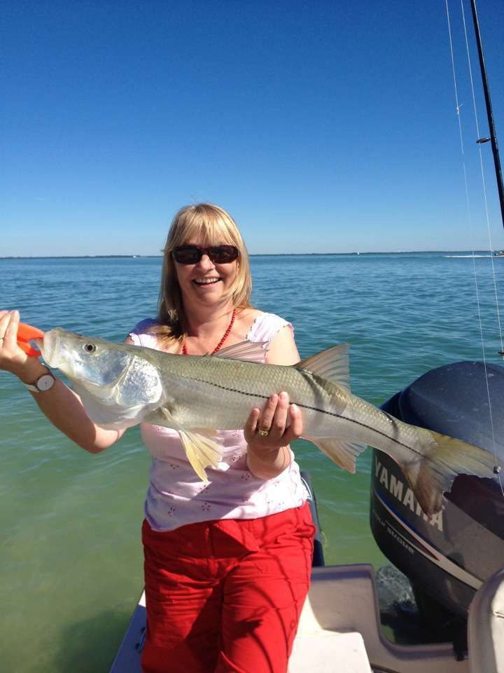 Best snook of a liftetime with captain noahs sanibel fishing charters